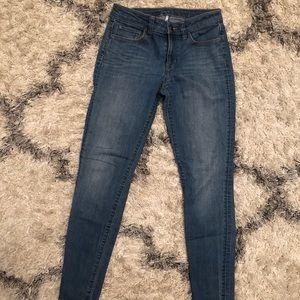 Loft Modern Skinny Jeans, Size 2